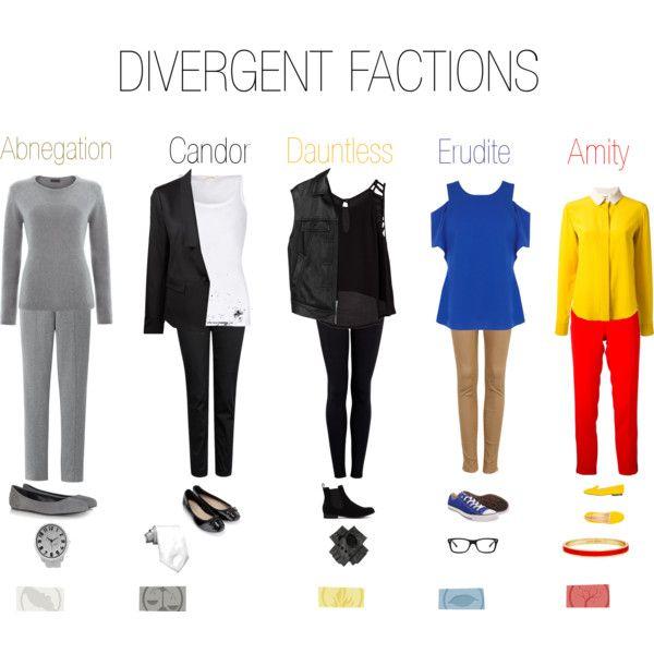Divergent Faction Outfits - Polyvore | Clothes | Pinterest ...
