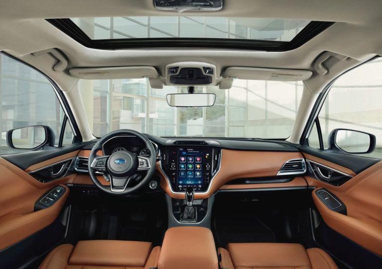 2020 Yeni Kasa Subaru Legacy Mk7 Ozellikleri Ile Tanitildi Oto Kokpit Subaru Legacy Subaru Otomobil