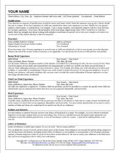 The Standout Nanny Resume  Nanny Jobs Child And Infant