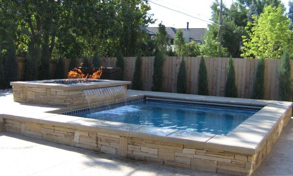 small above ground swimming pools | Small backyard pools ...