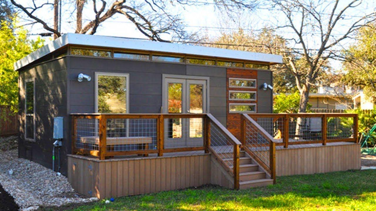 14u0027 X 24u0027 Modern Modular Cabin By Kanga Room | Amazing Small House Desi