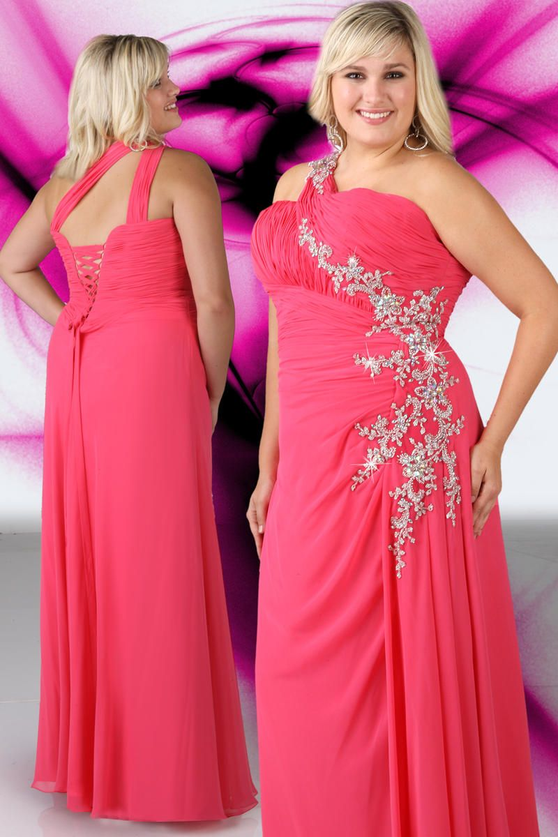 dbe6d85d9fae1 Xcite Plus Size Prom by Impression 35060