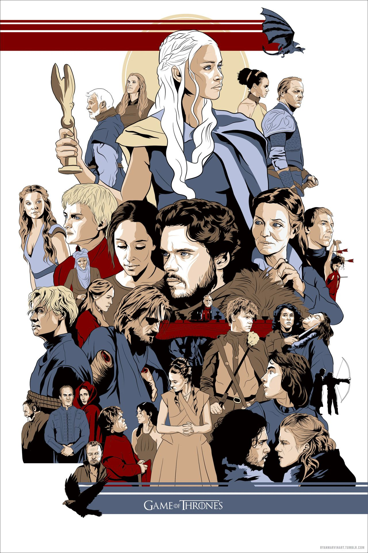 season three artwork by ryan marvin