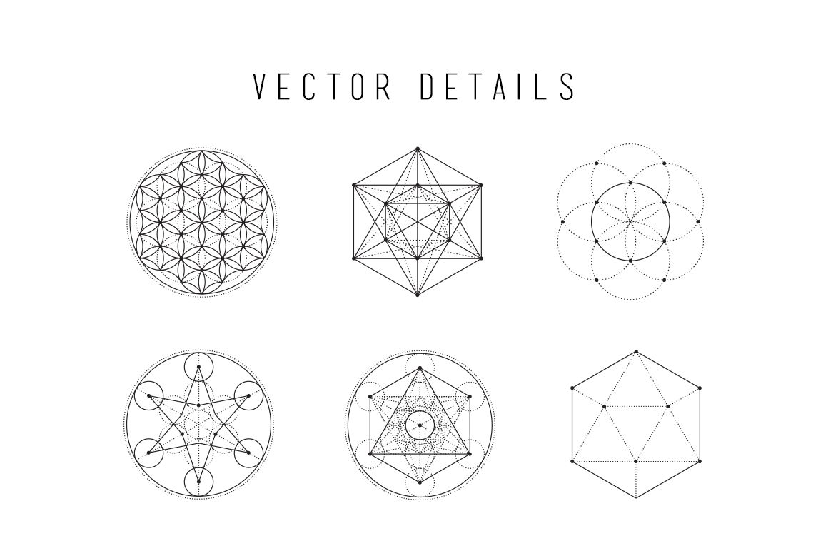 Sacred Geometry Vector Bundle | Geometry, Art and Culture