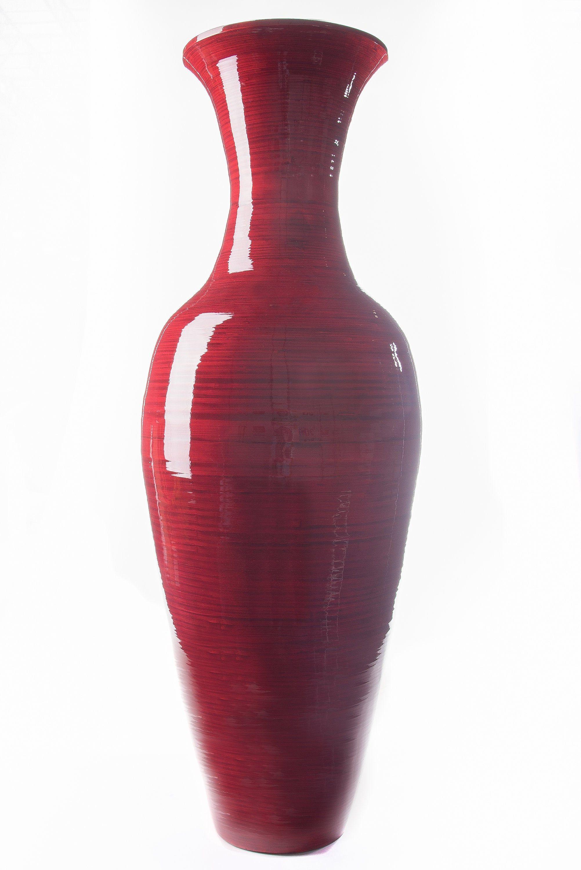 Kaler Bamboo Floor Vase With Images Floor Vase Bamboo