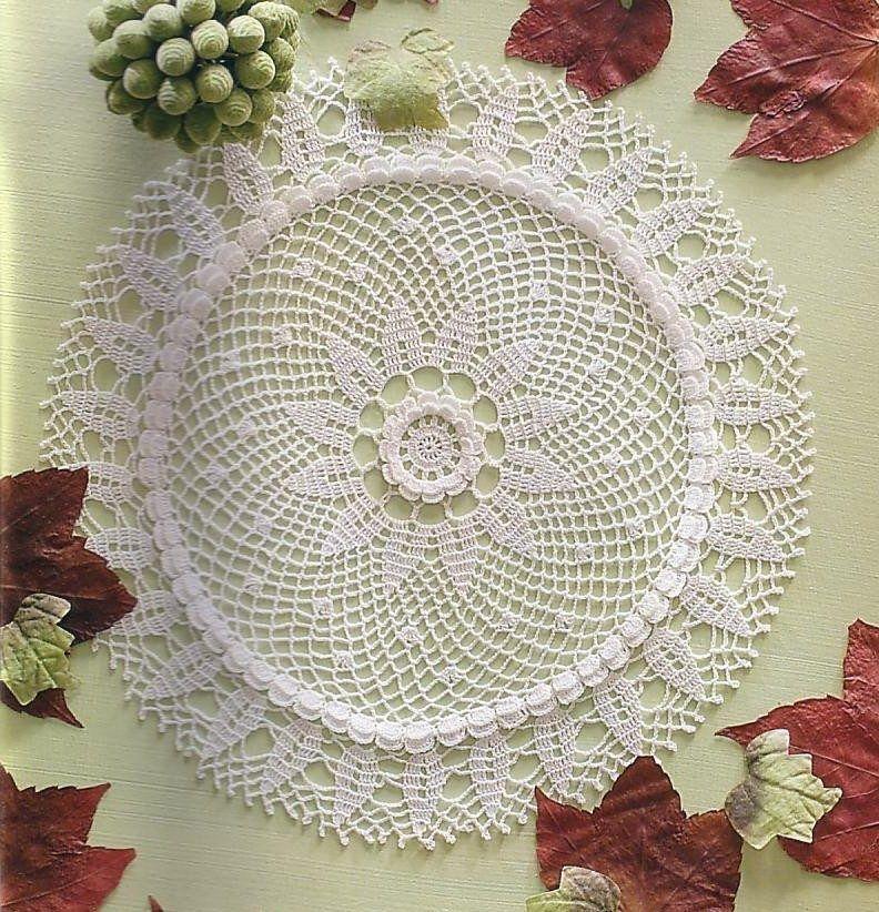 Tapetes Tejidos A Crochet - BsF 890,00 en MercadoLibre | Proyectos ...