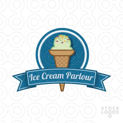 Ice Cream Parlour Ice Cream Logo Restaurant Menu Design Menu Design