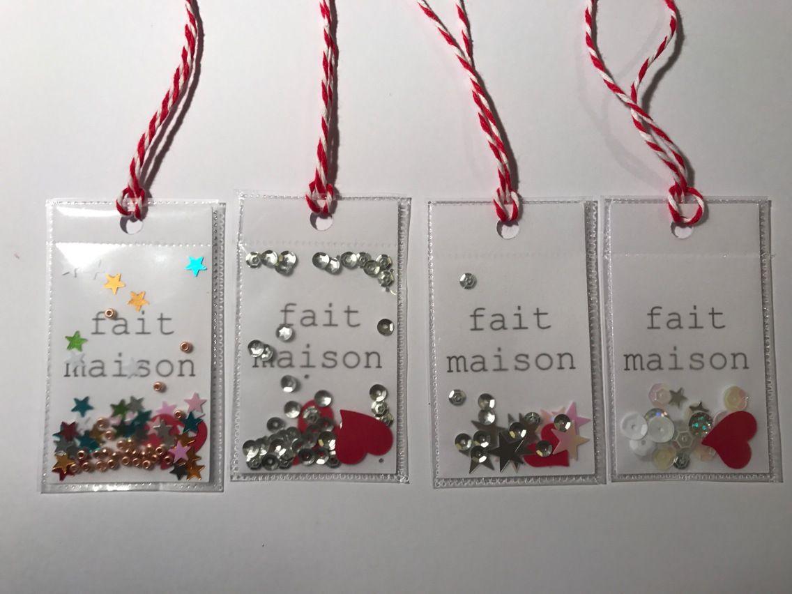 """Cadeaux Fait Maison Pour Noel Étiquettes cadeau """"fait maison"""" plastifiées : emballages"""