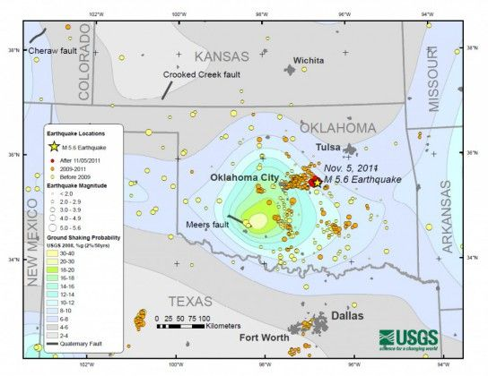 Oklahoma To Get New Earthquake Hazard Maps   Revelation in the News ...