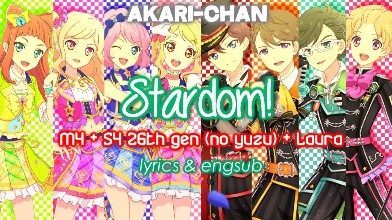 LYRICS & ENGSUB & FANMADE] Stardom (M4 + S4 26TH GEN (no