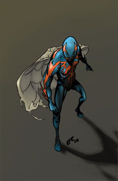 #Spiderman #2099 #Fan #Art. (Spiderman 2099) By: Deeterhi. (THE * 5 * STÅR * ÅWARD * OF: * AW YEAH, IT'S MAJOR ÅWESOMENESS!!!™) ÅÅÅ+