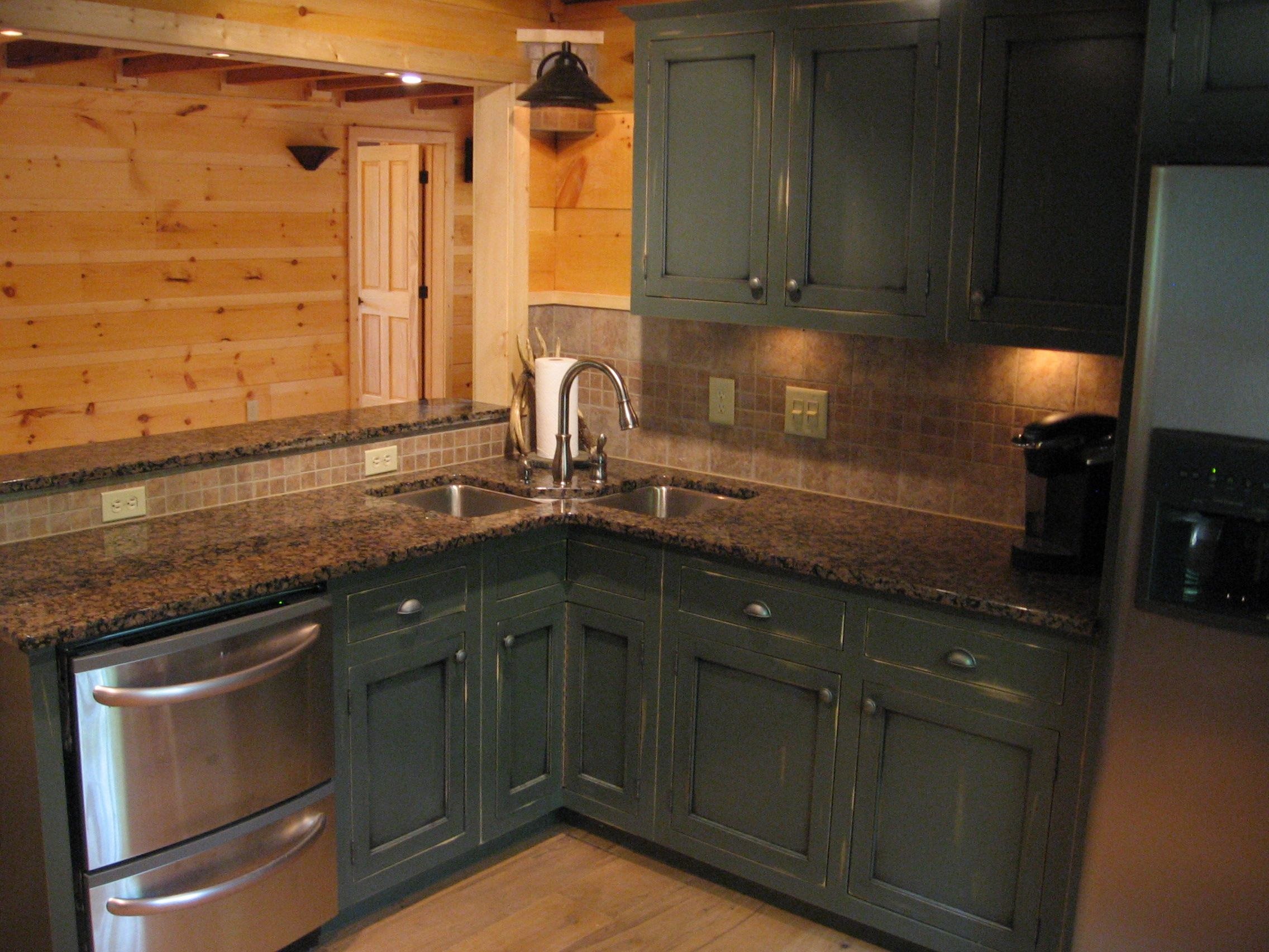 cabinets in cabins