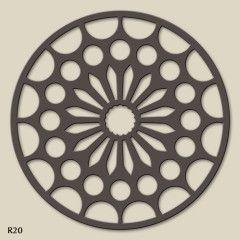 El Rincón de Arte | Celosías Arquitectónicas | Interiorismo. Celosía Nº R20. Estilo Tracería.