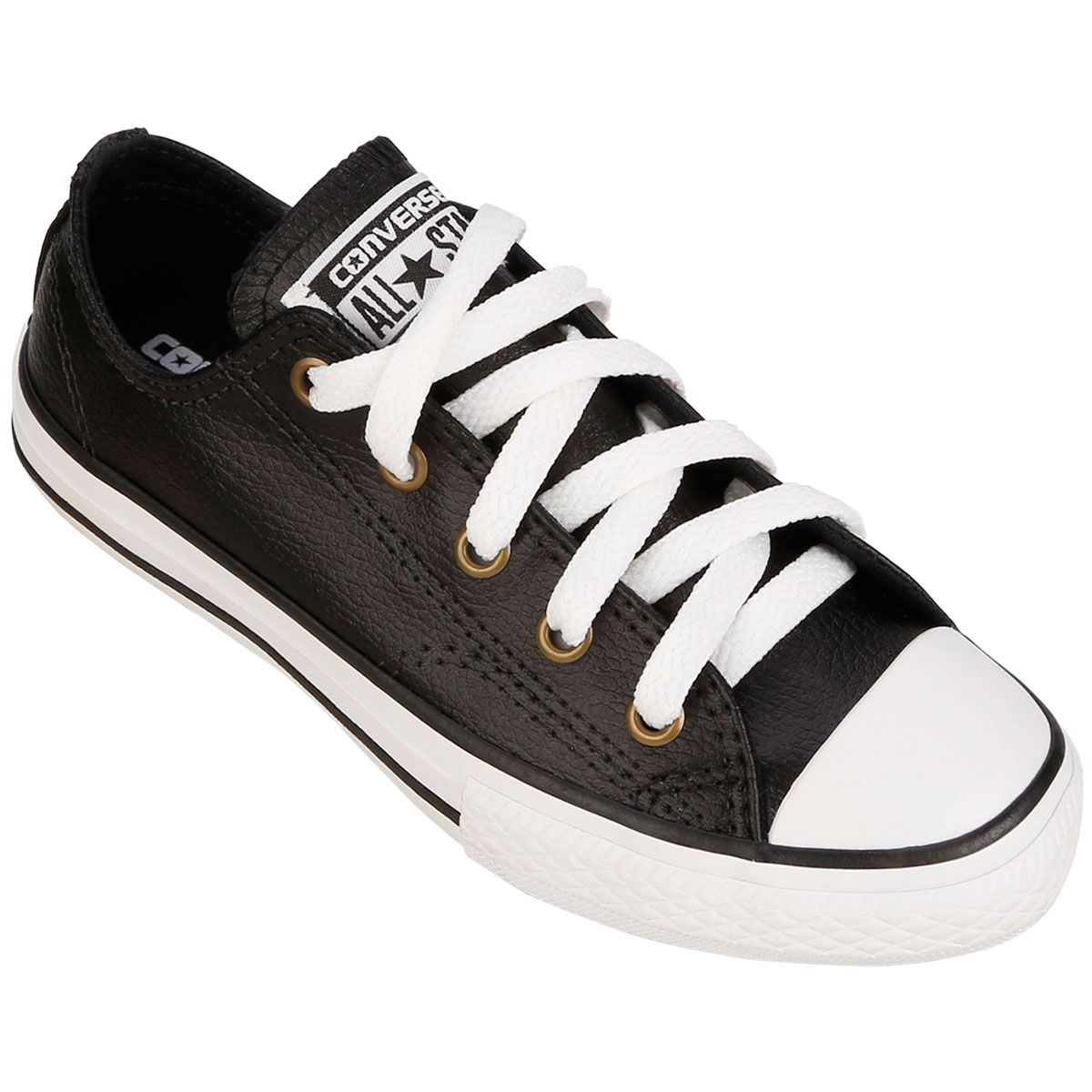 10b0b0ef4 Tênis Converse All Star CT AS Malden OX Infantil Preto