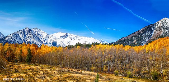 Colorado Rocky Mountain Independence Pass Autumn Panorama 1. The first part in a two part series making for a very large panorama. | Flickr ...