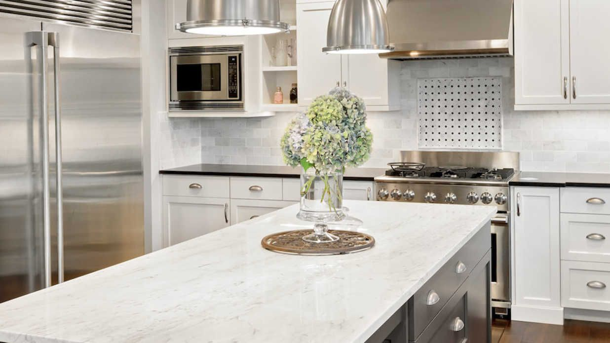 Quartz countertops also known as engineered stone match the looks and price of natural