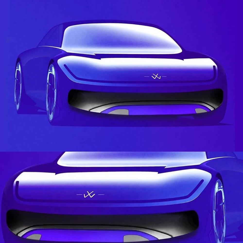 "DC Design on Instagram: ""Bluuuuuuuu VW from @c_ar.tist_ #cardesign #cardesignconcept #illustration #sketch #automotivedesign #automotivesketch #autodesign…"""