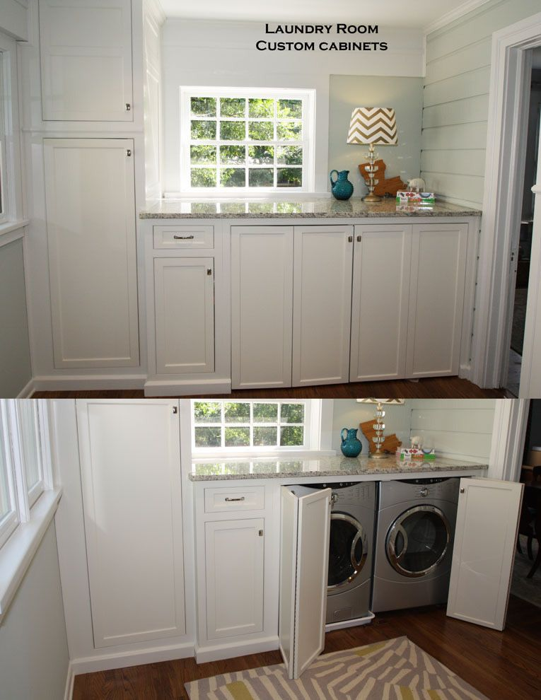 This Custom Laundry Storage Is Perfection Great Job Team Green Teamgreen Laundryroom Customcarpentry Atla Green Laundry Perfect Laundry Room Home N Decor