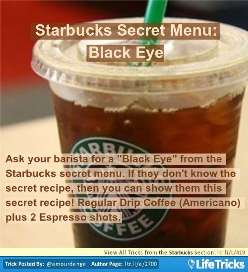 black eye starbucks