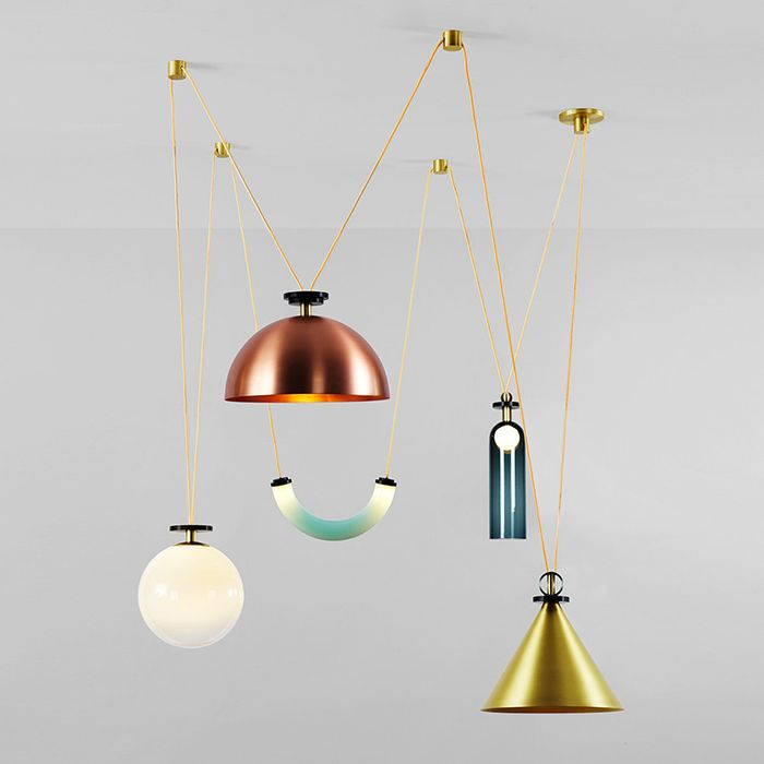 Shape Up Chandelier By Ladies Gentlemen Studio Chandelier