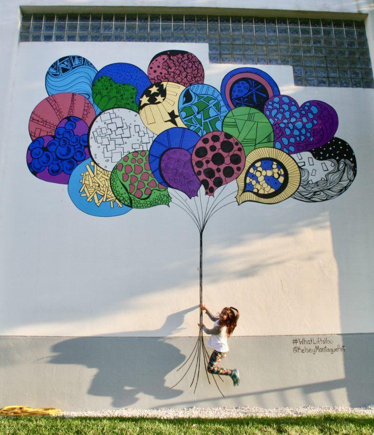 whatliftsyou wings Kelsey Montague Art Street art love