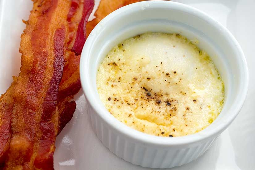 Photo of Instant Pot Eggs en Cocotte (French Baked Eggs)