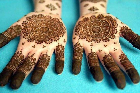 rose mehndi style eid 2016 - YouTube