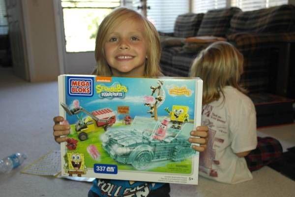 Mega Bloks SpongeBob Squarepants Invisible Boatmobile Rescue + Giveaway #MegaBloks #SpongeBob #InvisibleBoat #giveaway #ad