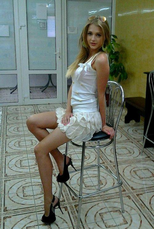 Mini Skirts Legs High Heels