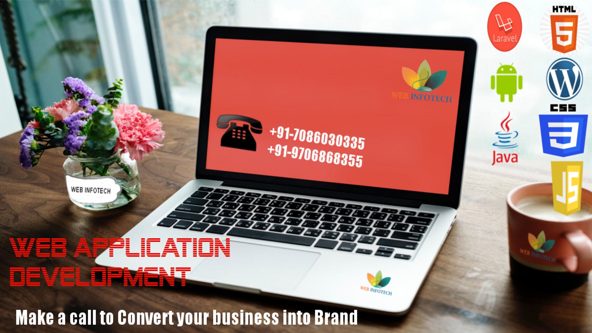 Web Infotech Is One Of Leading Web Designing Company In Guwahati Web Development Company In Web Development Company Android App Development Fun Website Design