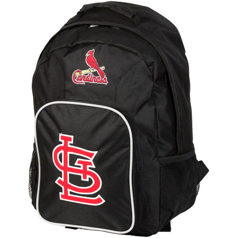 St. Louis Cardinals Southpaw Backpack – Black