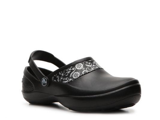 2f75b951996f43 Women s Crocs Mercy Work Clog - Black Clogs Shoes