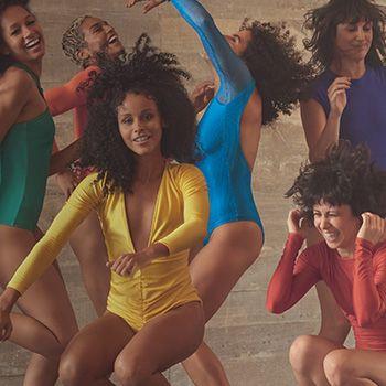 Dança é arte. É movimento. E assim como Melissa, forma de expressão