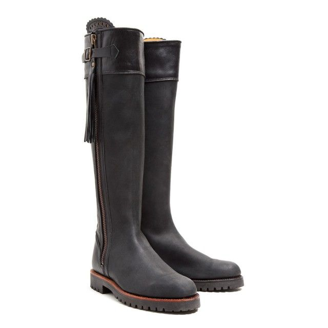 c8e34a9af1f Penelope Chilvers Long Tassel Boot | Shoes & Bags | Black leather ...