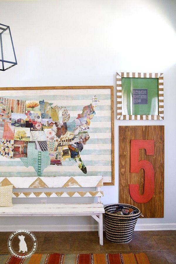 diy map: the handmade home art book challenge