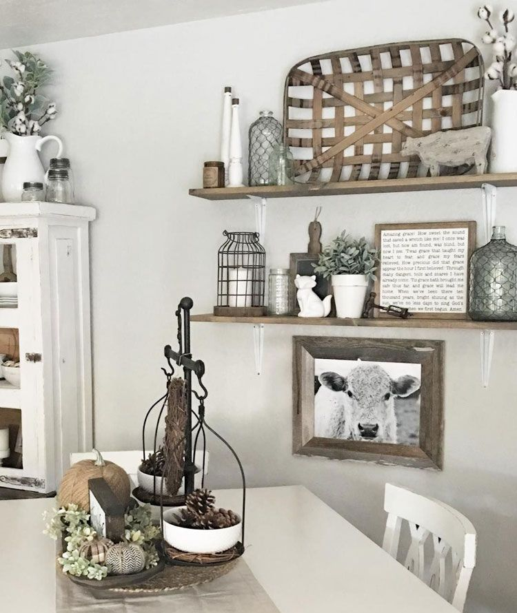 57 Kitchen Wall Decor Ideas Home Ideas Review In 2020 Rustic Dining Room Wall Decor Farmhouse Dining Room Table Farmhouse Dining Rooms Decor
