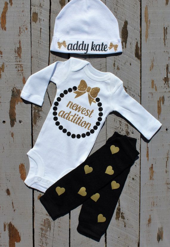 Baby Girl Clothes Newborn Hospital By Trendiesttotsintown
