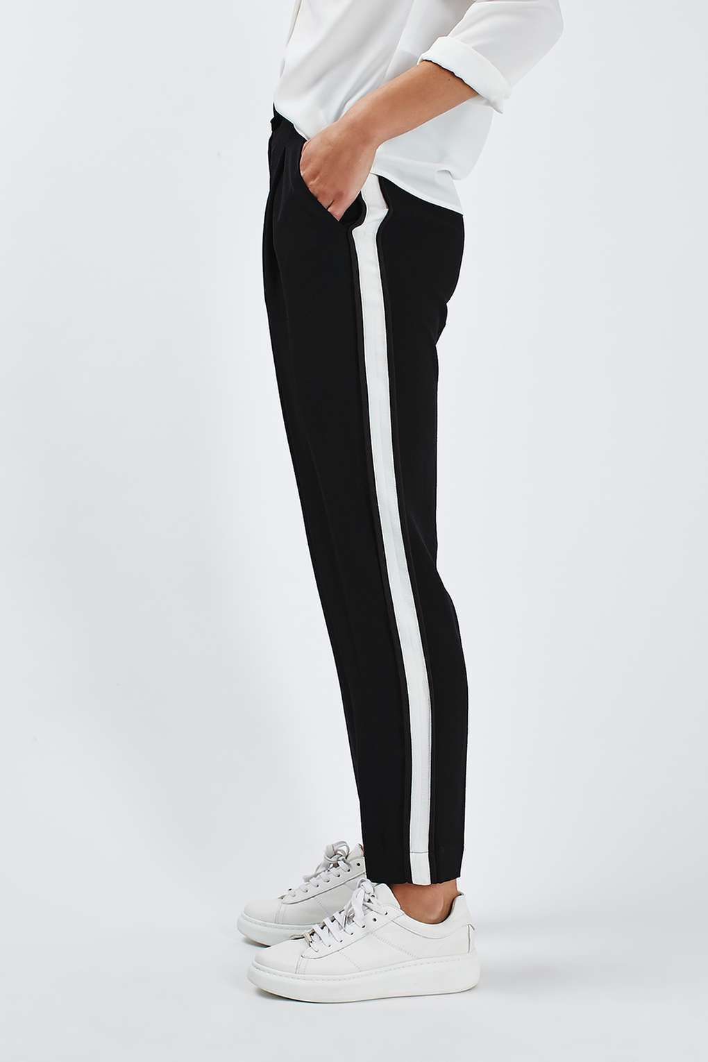 Side Stripe Peg Trousers Peg Trousers Etsy Store And Store