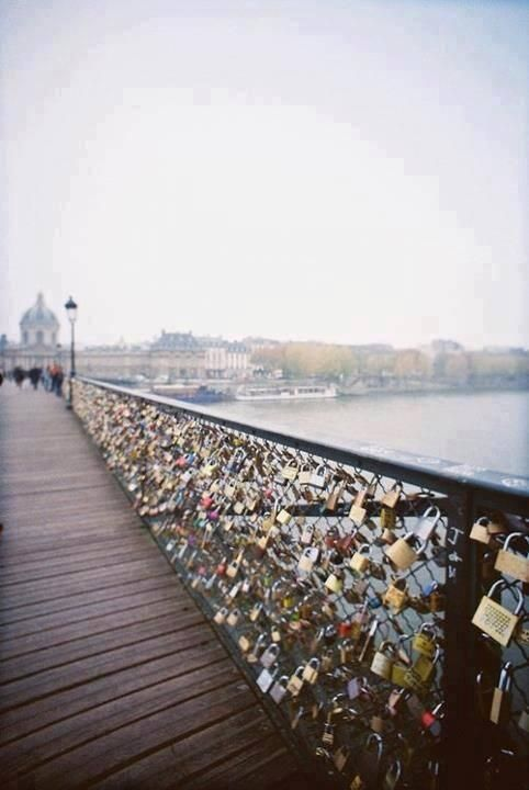 Ponts des arts en Paris