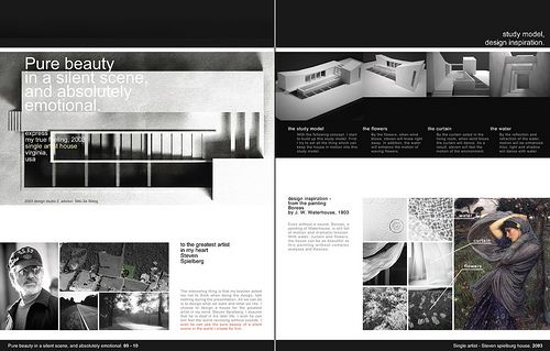 Architecture Portfolio 9 10 By Kai L Via Flickr Branding Layouts Graphics Typography