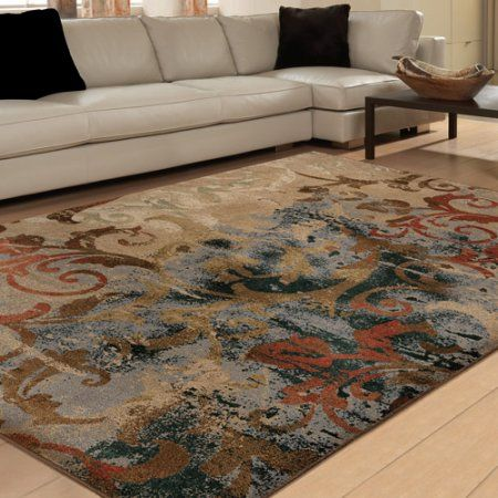 Free Shipping Orian Rugs Soft Scroll Mayhem Multi Colored Area Rug At
