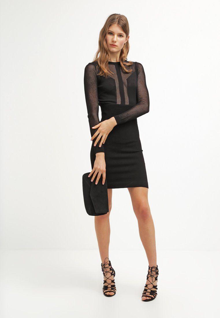Vestidos guess negro