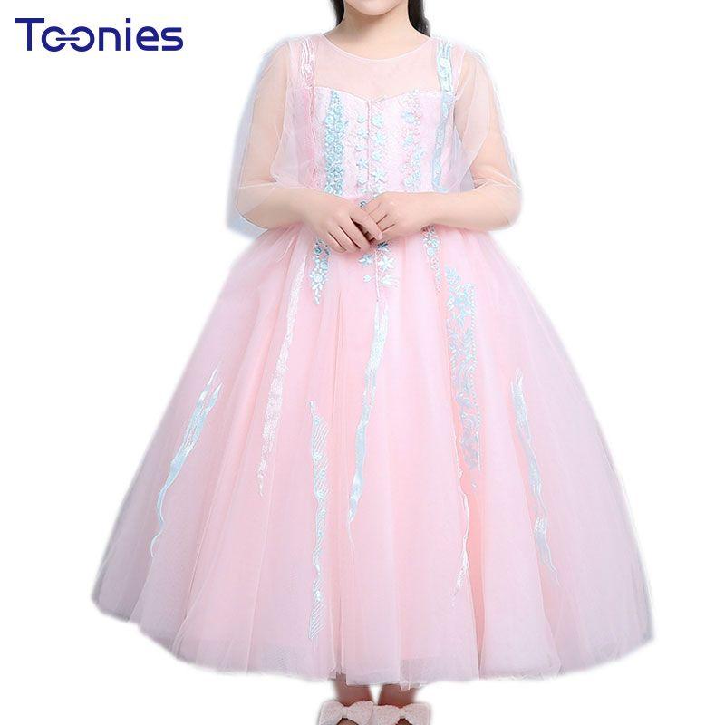 Free Shipping] Buy Best Children Dresses Fancy Wedding Baby Girls ...
