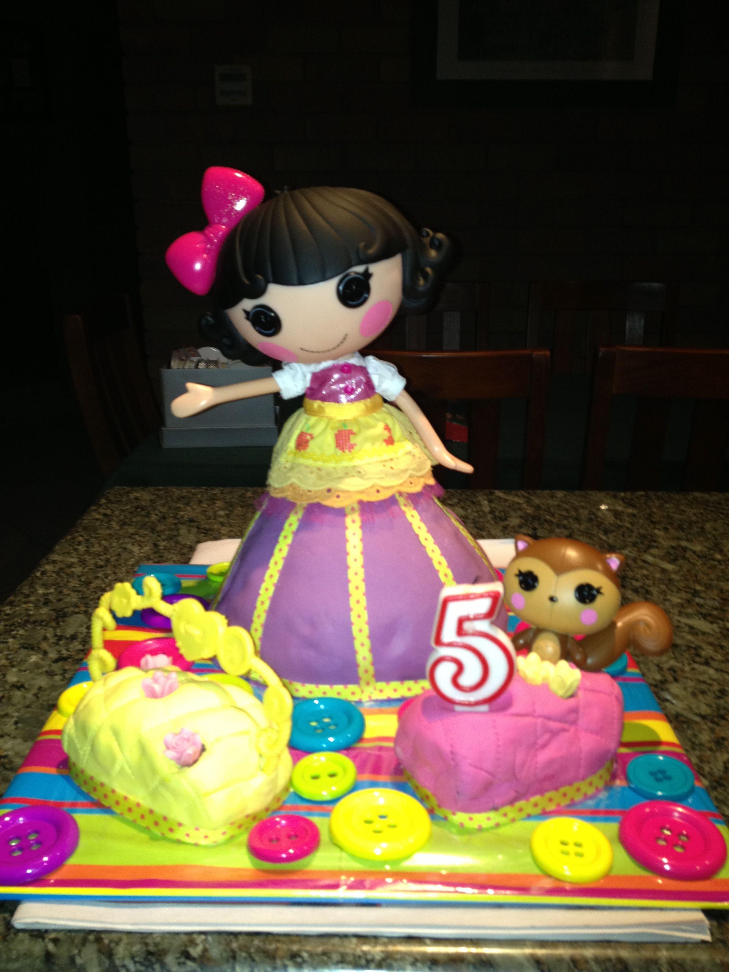 Lalaloopsy Dolly Varden Cake