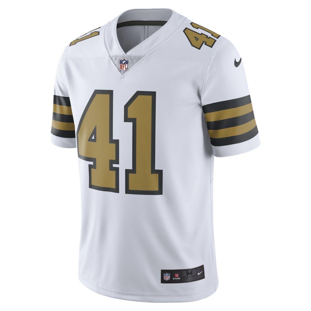 buy online ef73c 4f5f2 NFL New Orleans Saints Limited (Alvin Kamara) Men's Football ...