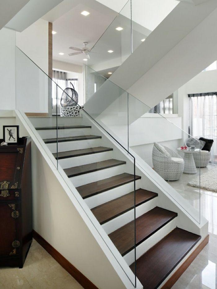 40 Treppengelander Glas Luftiges Gefuhl Im Innendesign Einsetzen