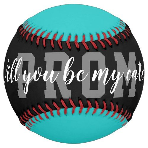 Softball Hoco Prom proposal request ball gift idea | Zazzle.com #promproposal