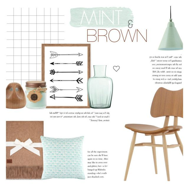 Mint Brown By C Silla Liked On Polyvore Featuring Interior