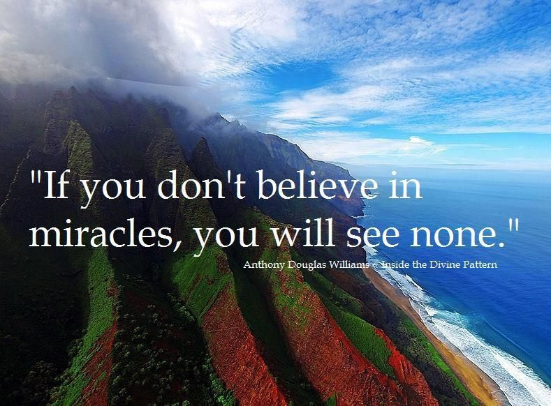 Best 50+ I Dont Believe In Miracles Quotes