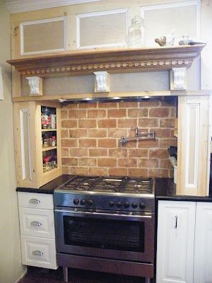 enchanting faux brick backsplash kitchen | Faux brick backsplash | Faux brick backsplash, Faux brick ...
